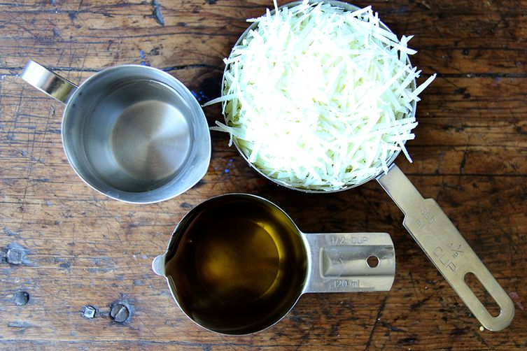 Canal House Shaved Asparagus and Arugula Salad