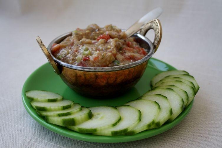Eggplant & Tomato Dip