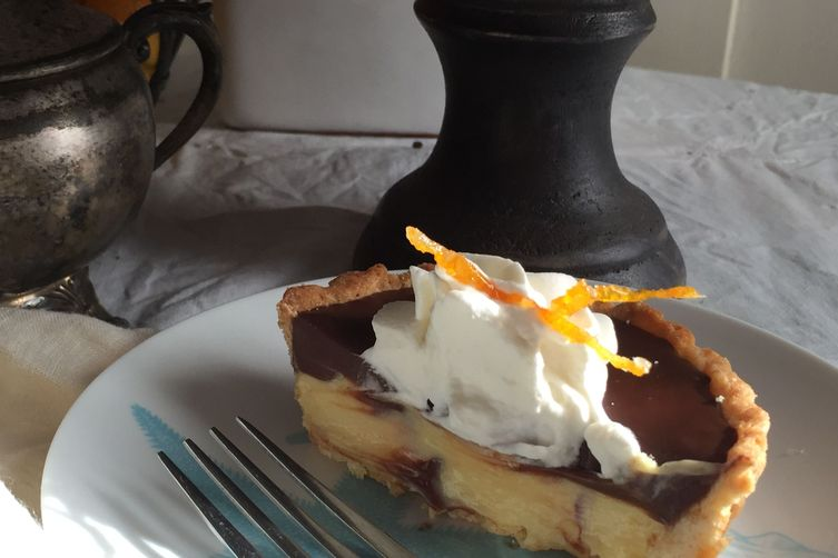 Chocolate Orange Cream Tart