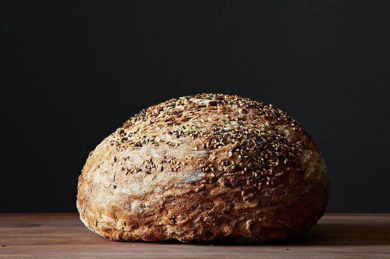 Spent Grain and Herb Whole-Wheat Bread