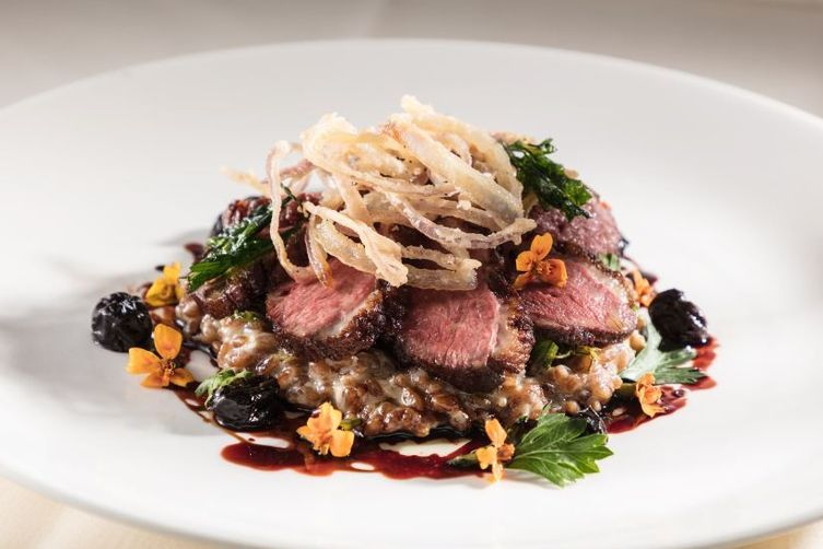 Coffee Marinated Hudson Valley Duck Breast