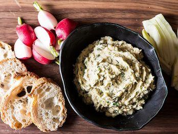 Ratatouille + White Bean Dip