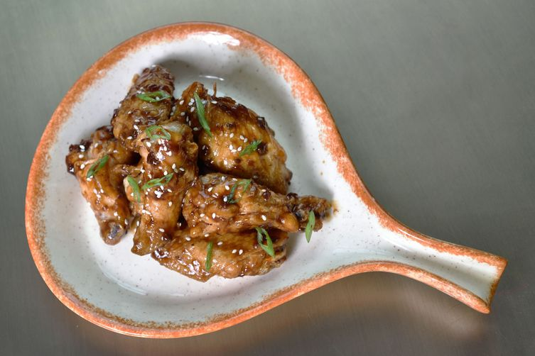 Kentuckyaki Wings for Super Bowl
