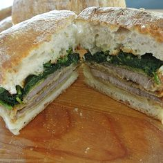 {panino}: beef cutlet, broccoli rabe & provolone on ciabatta