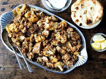 A Spicy, Smoky Shawarma-Inspired Sheet Pan Dinner