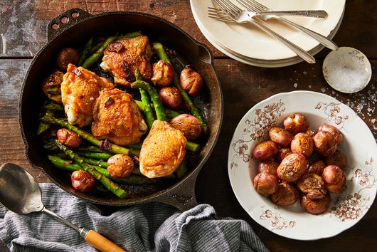 The Crispy Skillet Chicken I Could Eat Every Single Night