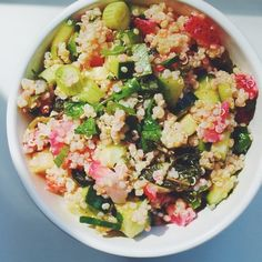 Sara Forte's Strawberry Tabbouleh