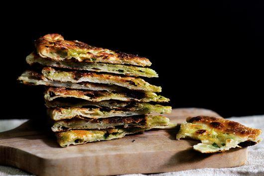 Multi-Layered Scallion Pancakes
