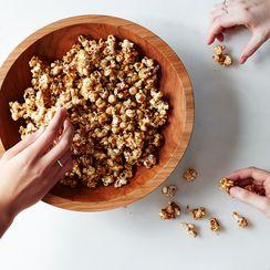 Angostura Bitters-Glazed Popcorn