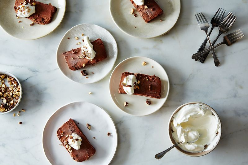 Bittersweet Chocolate Semifreddo