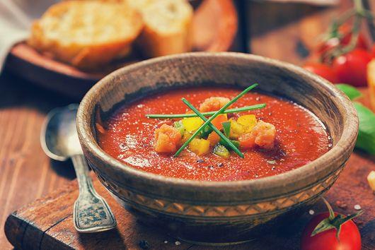 Heirloom Tomato Gazpacho Soup