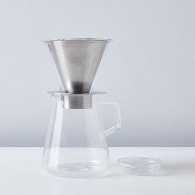 Stainless Coffee Dripper & Pot