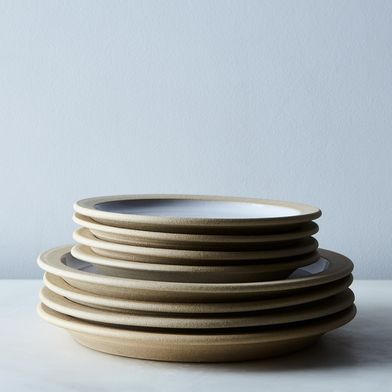 Handmade Farmhouse Part-Glazed Dinnerware