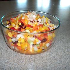 Jicama Color Crunch Salad