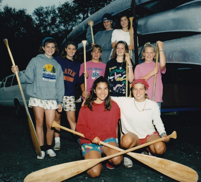 Lauren, VP of Sales, is the camper in the middle row, second from the left.