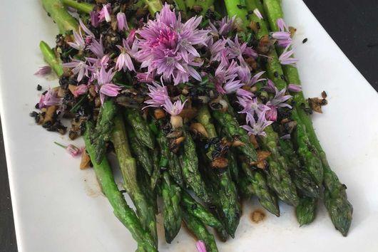 Chive Blossom Asparagus