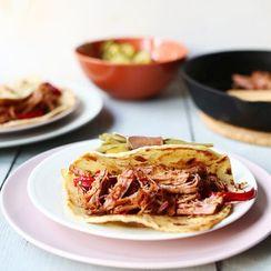 Carnitas tenderloin tacos