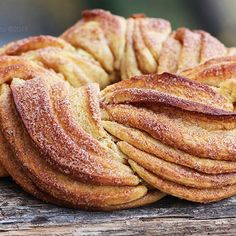 Estonian Kringel - Braided Cinnamon Bread