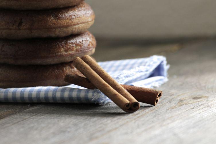 Grain-free Cinnamon Spice Doughnuts