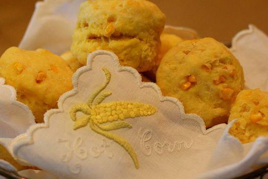 Fresh Corn Buttermilk Biscuits