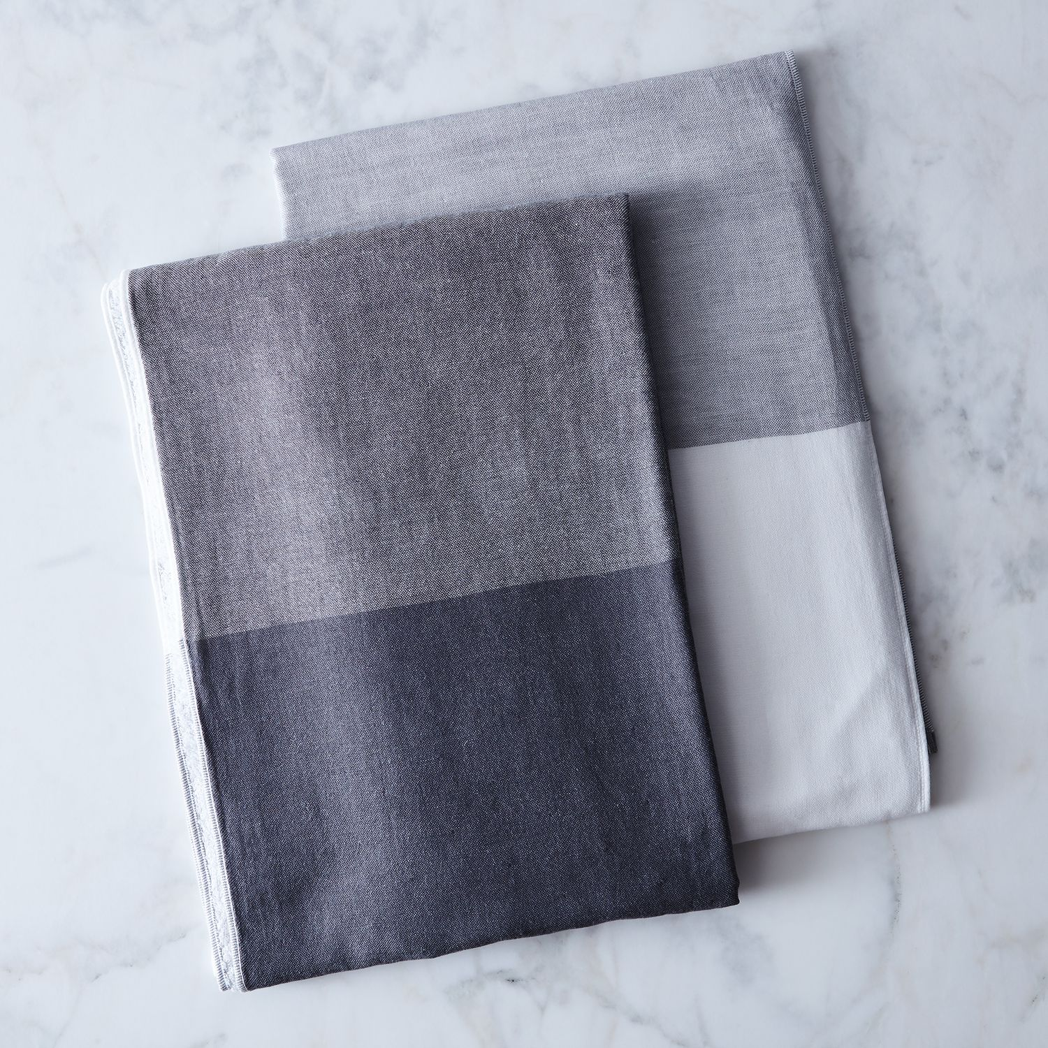 Japanese Linen Towel: Two-Tone Chambray Japanese Bath Towels On Food52
