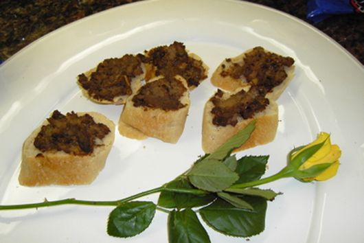 Duck Liver Crostini