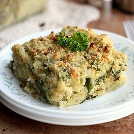 Quinoa 'Mac' and Cauliflower Chard Cheese Sauce
