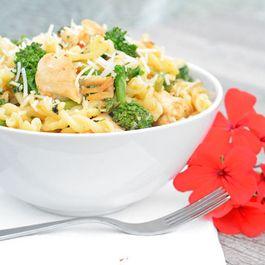 Broccoli Rabe Chicken Pasta Bowl