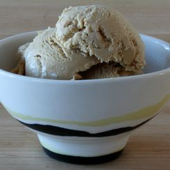 Organic Coffee Frozen Yogurt