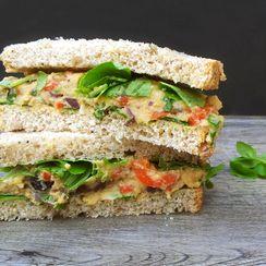 Mediterranean Sandwich [vegan]