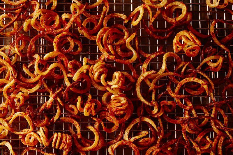 You will not find fried curly fries in Inspiralize Everything.