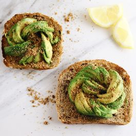 Avocado toast with dukkah