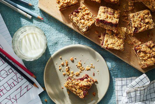 Back-to-School Raspberry Granola Bars From Karen DeMasco