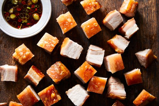 The Secret to My Mom's Crackly-Crisp Pork Belly