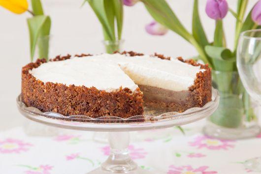 Walnut Lentil Cream Pie