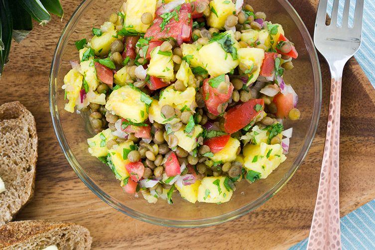 Tropical Lentil Summer Salad