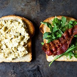 Egg Salad & Bacon* by DianaG