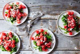 C7e64bea 37e9 4e9b 8950 3f5cce1f643a  2015 0804 watermelon arugula and pickled onion summer salad bobbi lin 6046