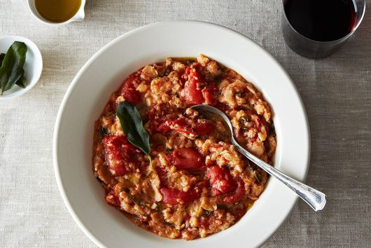 Pappa al Pomodoro (Tuscan Bread Soup with a Sage Oil Drizzle)