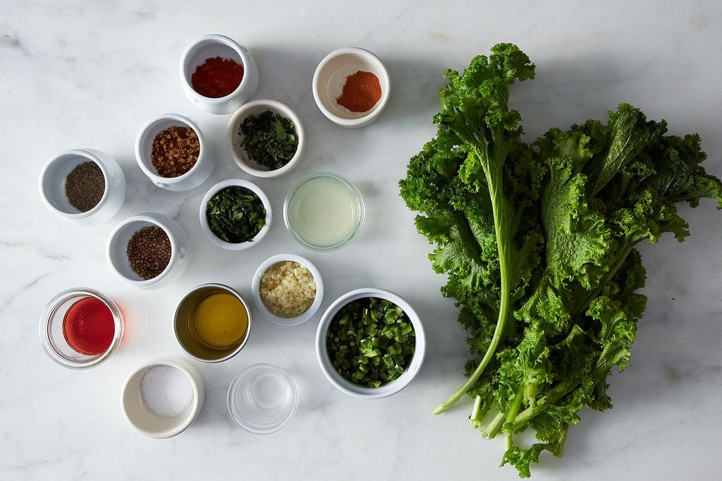 Bryant Terry's Mustard Green Harissa from Food52
