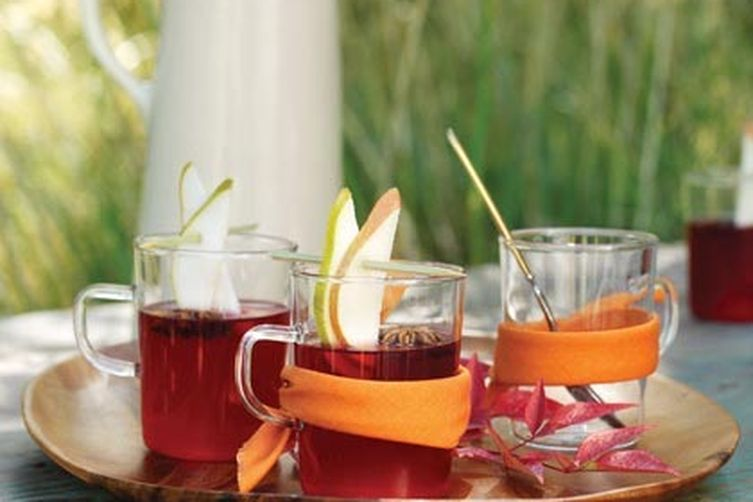Thanksgiving Star Cider Punch