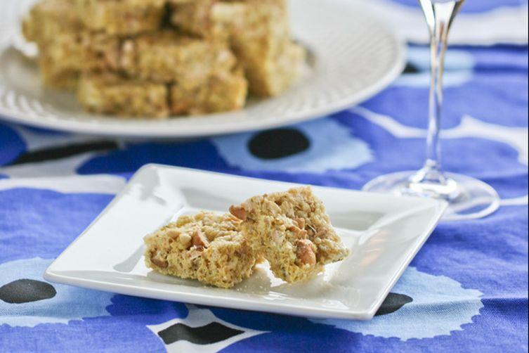 Curried Coconut Cashew Rice Krispies Treats