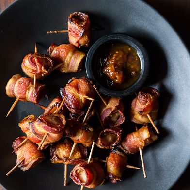 The Elegant Hors d'Oeuvre's Bacon-Wrapped Water Chestnuts by Genius ...