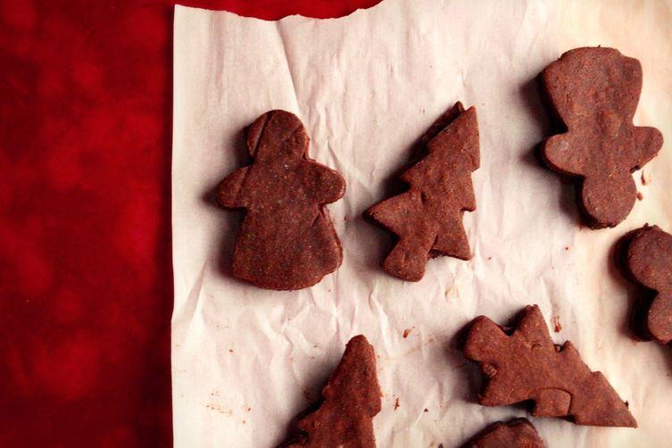 Chocolate Ganache Sandwich Cookies (vegan, gluten free)