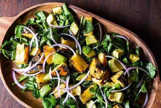 Maricel E. Presilla's Cuban Avocado, Watercress, and Pineapple Salad