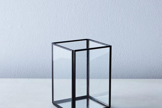 Simple Glass Mirrored Lantern