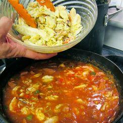 Cajun Crab and Shrimp Pasta