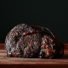 Coffee-Rubbed Ribeye Roast