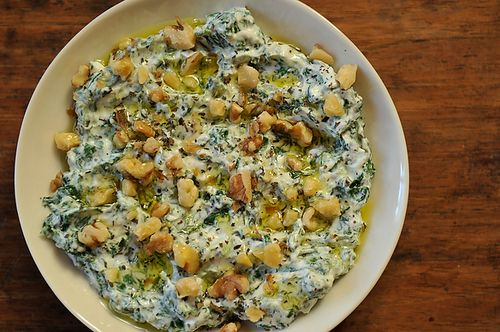 Yoghurt & Spinach Dip from Food52