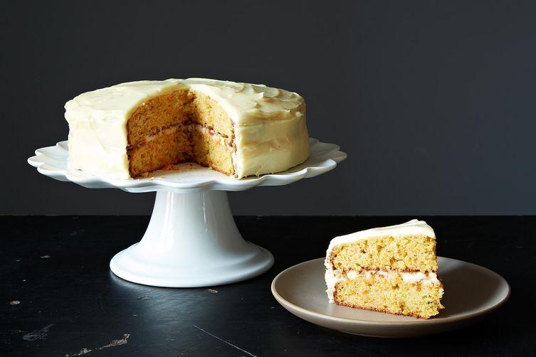 Carrot Cake with Cardamom